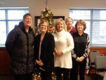 L-R: Amy Allen, Jeanne Burt, Lily Melch, Nancy Keeney, Claudette Higgins